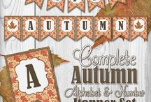 Autumn Banner / by Andrea Cammarata