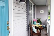 Front Porch Inspiration / An outdoor living space / by Nina Blevins