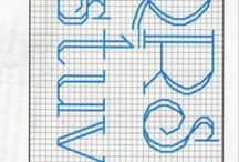 alfabet / by karolina szewerniak