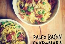 """Paleo/GF noodles & """"pasta"""" dishes / by Becky Meredith"""
