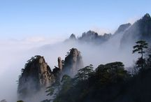 Chinese famous attractions Channels / Let me briefly explain the characteristics of Chinese scenic / by Jinhao