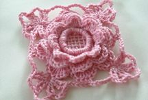 crochet squares and motifs / by Sandra Massey
