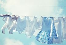 All About Baby Blue & Sky Blue / by Dina T.