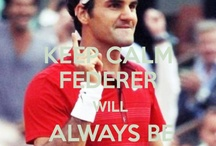 The King Roger Federer / by Helena Pozo Fos