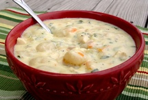Recipes:  SOUPS/SALADS / by Sheila Etzler
