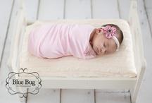 lainey newborn photo ideas / by Linda Venema