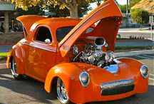 Hot Rods and Cool Cars / From car shows to Pinterest, these are some of our favorite hot rods and cool cars! / by Genuine Hotrod