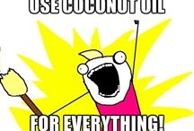 Great Uses for Coconut Oil / The health benefits of Coconut Oil are really endless! From cooking, to skin and hair care to aiding weight loss, there are many reasons Coconut Oil should be added to your daily routine. / by Medlab Supply