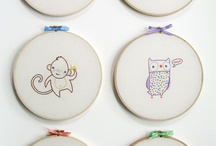 embroidery inspiration / by emilie ahern
