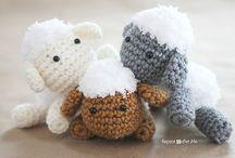 Amigurumi / cute crochet dolls, animals, toys / by Emma Rain