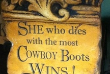 cowgirl cool / by Victoria White