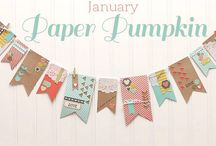 Paper Pumpkin January 2014 - Love Notes / by Paper Pumpkin by Stampin' Up!