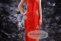 Artwedding Chinese Style Dresses / by Artwedding.com
