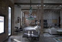 i n d u s t r i a l s p a c e s / Industrial Style Spaces and interiors / by Zeewok: Products with Attitude