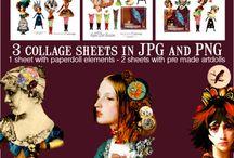 Paper dolls / by Jill Bee