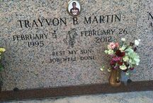 Trayvon Martin / Trayvon Martin R.I.P. / by SantaCruz Taffy