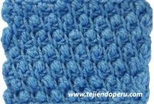 CROCHÊ TUNISIANO / CROCHÊ TUNISIANO / by Sônia Maria - blog Falando de Crochet