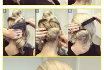 Ballroom hairstyles / by Claire