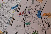 Midori Travelers Notebook / by Tiffany Parkin