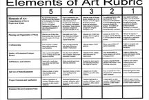 Art Rubrics and Assessments / by Jacquie Ryan