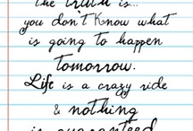Quotes, Thoughts, and Words to Live By<3 / by Andrea Lingley
