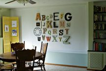 Happy Home - walls / by Kristy Dunn