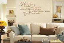 Wall quotes / by Linda A