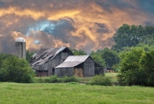 Old Barns and Churches / by Donna Hendry