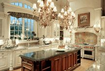 ~Home! Kitchen, Dining rooms & Storage / Fantasy kitchens, products & organizing ideas  / by Sheryll Lynette
