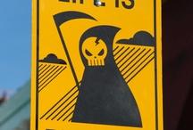 Warning signs / by revrant design