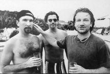 U2 and friends / by Jennie Langan