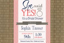 Bridal invitations/save the date / by Elizabeth Fisher