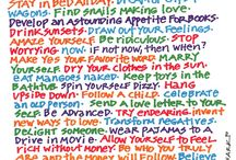 Words / by Kasey Decker
