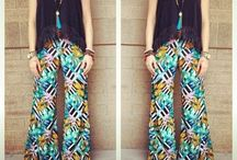 Printed Pants & Jumpsuits in Charlotte Stores / by Scoop Charlotte
