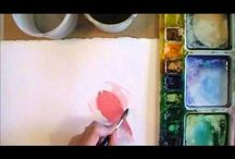 Art tutorials - watercolor / by Connie Bird