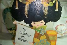 Vintage greeting cards/wrapping paper 3 / by Diane Yacopino