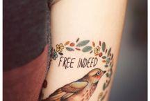 Tattoos  / by Hannah Brewer