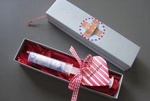 Karten und Geschenke / by Sandra A.