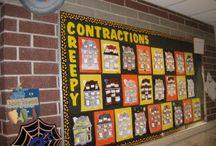 October Bulletin Boards / by Bulletin Board Ideas for Elementary School Teachers