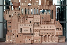 carton/cardboard / by Elisabeth
