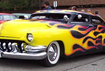 Flames - and possibly a pinstripe or two! / by Mike Hill