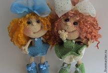 Princess Doll crochet pattern Finished projects LittleOwlsHut / by LittleOwlsHut
