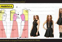 Patterns for dress / by Verica Cakoska