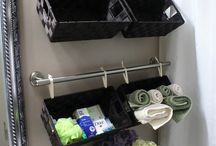 Cleaning,organizing-bathroom / by Catherine Feliz-Smith