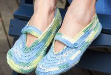 Free Patterns: Socks and Slippers / by Patons Yarns