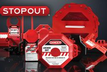 STOPOUT / STOPOUT brand lockout/tagout devices / by Accuform Signs