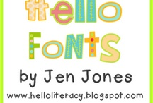 Fonts, Borders, & Clipart / by Sara Crowther
