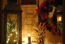 Christmas LANTERNS, JARS, and ANTIQUES / by Connie Wynn