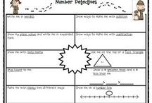 Number Sense / by Jennifer Haltiwanger