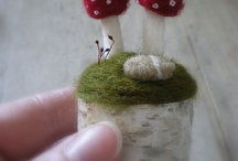 Felted / Needle felted things / by Linda Sciascia